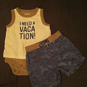 Boy's summer outfit
